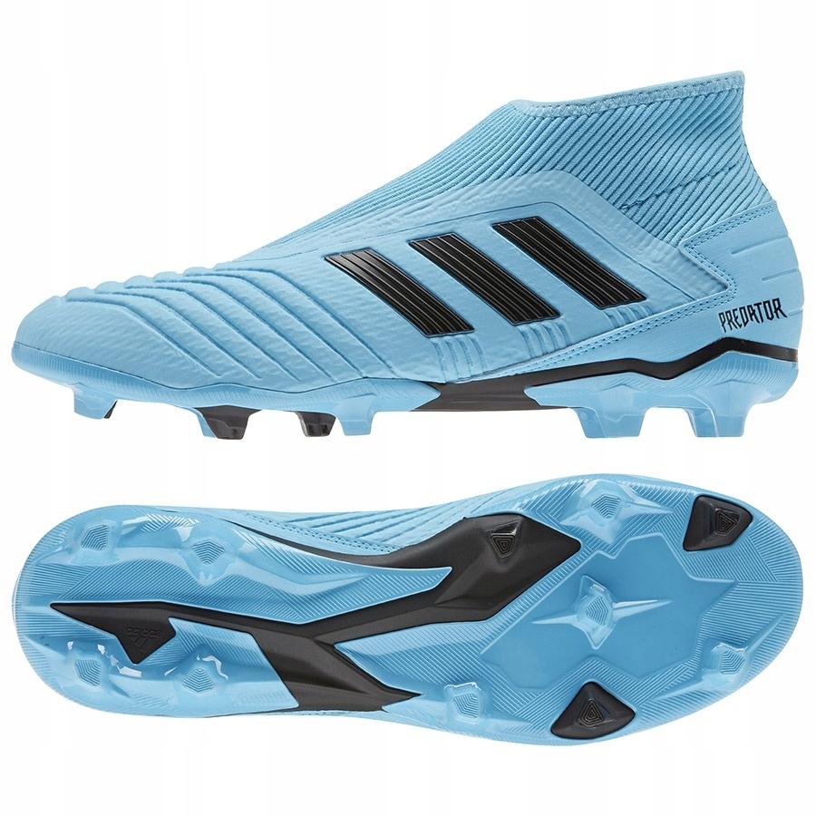 Buty adidas Predator 19.3 LL FG niebieski 42 2/3