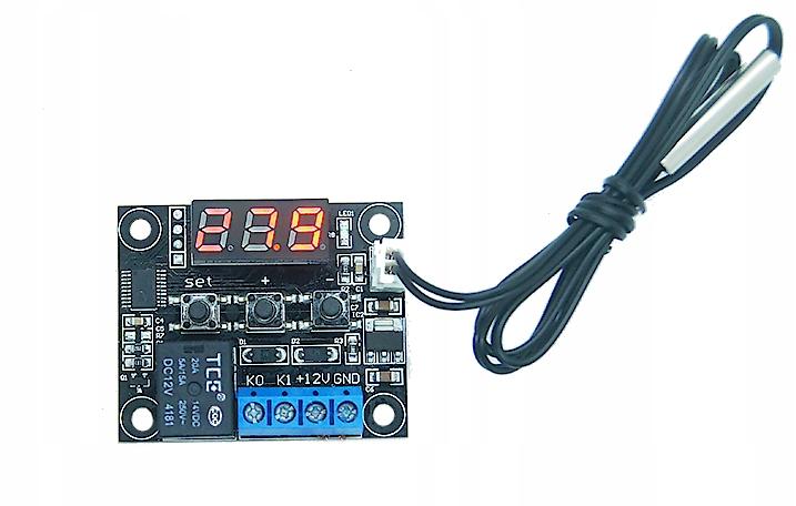 termostat cyfrowy W1209 z czujnikiem temperatury