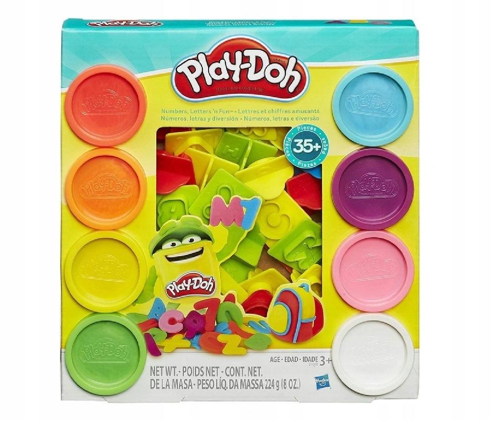 Play Doh Ciastolina Literki Cyferki Alfabet 21018 9122112310 Oficjalne Archiwum Allegro