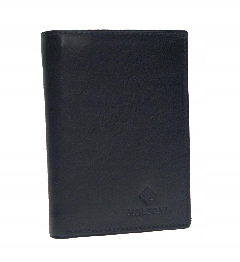 Męski klasyczny skórzany portfel MELTONI