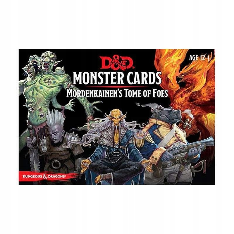 DnD Mordenkainen's Tome of Foes Monster Cards ENG