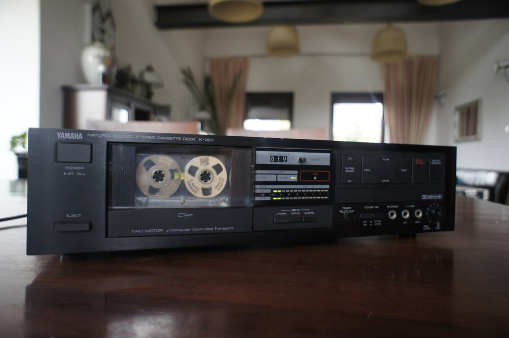Yamaha K 320 magnetofon casette deck