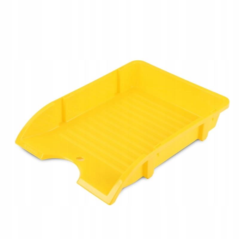 Szufladka na biurko DONAU, niełamliwa, A4, żółty