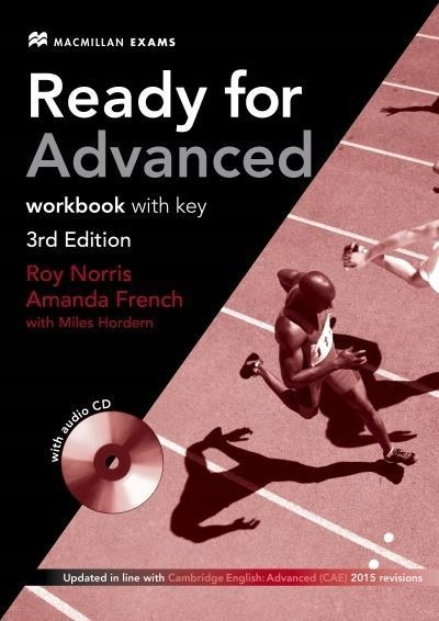READY FOR ADVANCED 3ED EDITION WB WITH KEY + CD