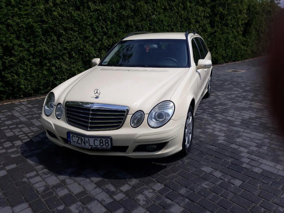 Mercedes Klasa E W211 Kombi 7 Osobowy 8245363071 Oficjalne Archiwum Allegro