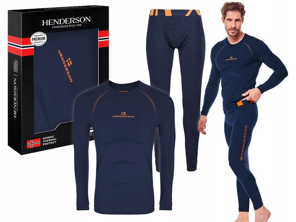 bielizna termo NORDIC komplet HENDERSON GRANAT XL