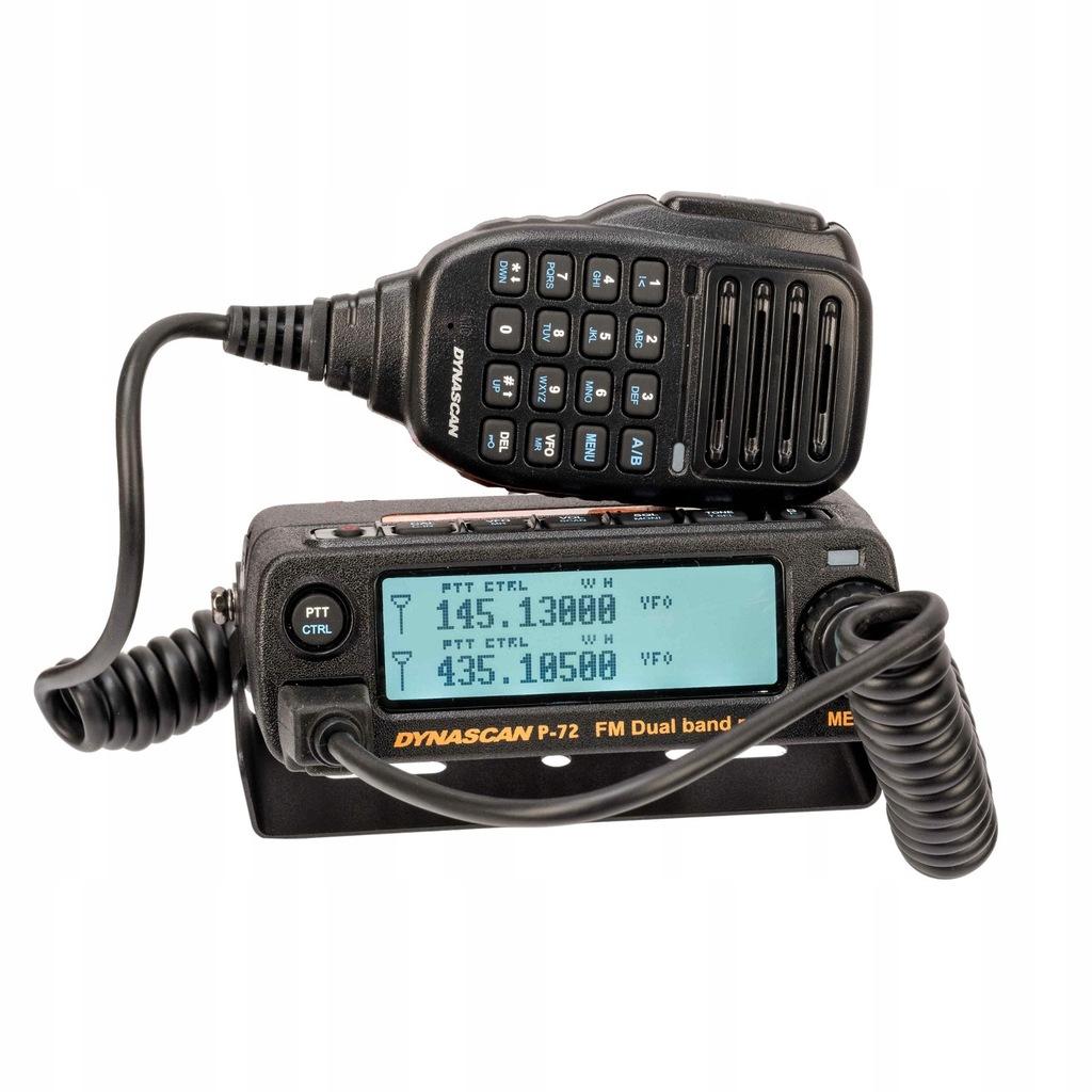 DYNASCAN RADIO VHF/UHF 20W POMOC DROGOWA POLICJA