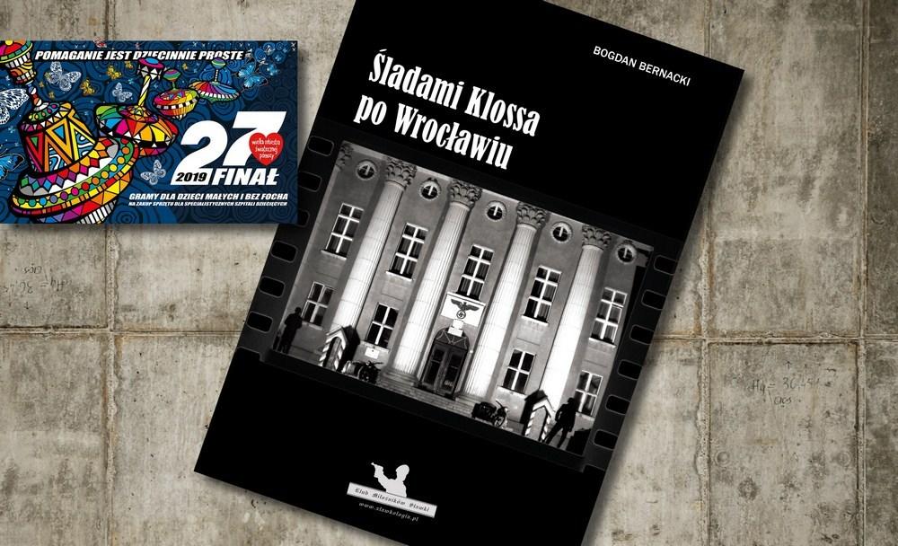 """Książka """"Śladami Klossa po Wrocławiu"""" z dedykacją"""