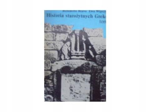 historia starożytnych Greków t 1 - B. Bravo