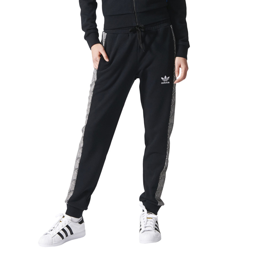 spodnie adidas damskie czrne
