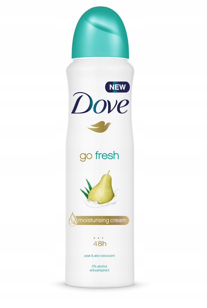 Dove Antyperspiranty Go Fresh spray Pear&Aloe
