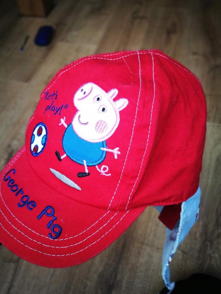 Czapka kapelusz przeciwsłoneczny ŚWINKA PEPPA