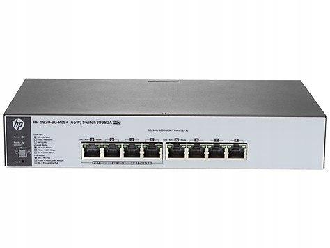 1820-8G-PoE+ (65W) Switch J9982A - Limited Lifetim
