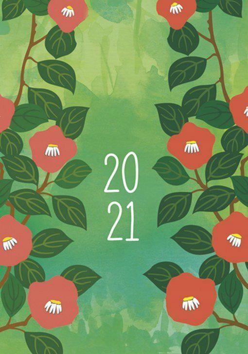 Kalendarz MIKRO 2021 tygodniowy zielonyMichalczyk