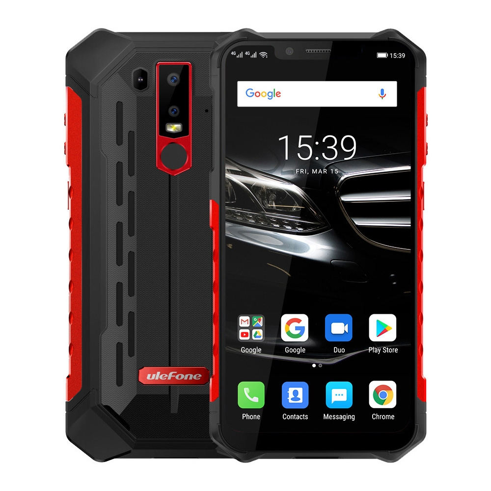 Ulefone Armor 6E 4/64GB IP68/69K 6,2'' LTE NFC Red
