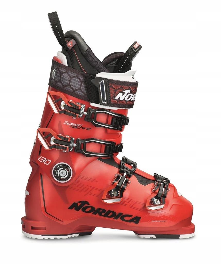 Buty narciarskie Nordica Speedmachine 130 Czerwony