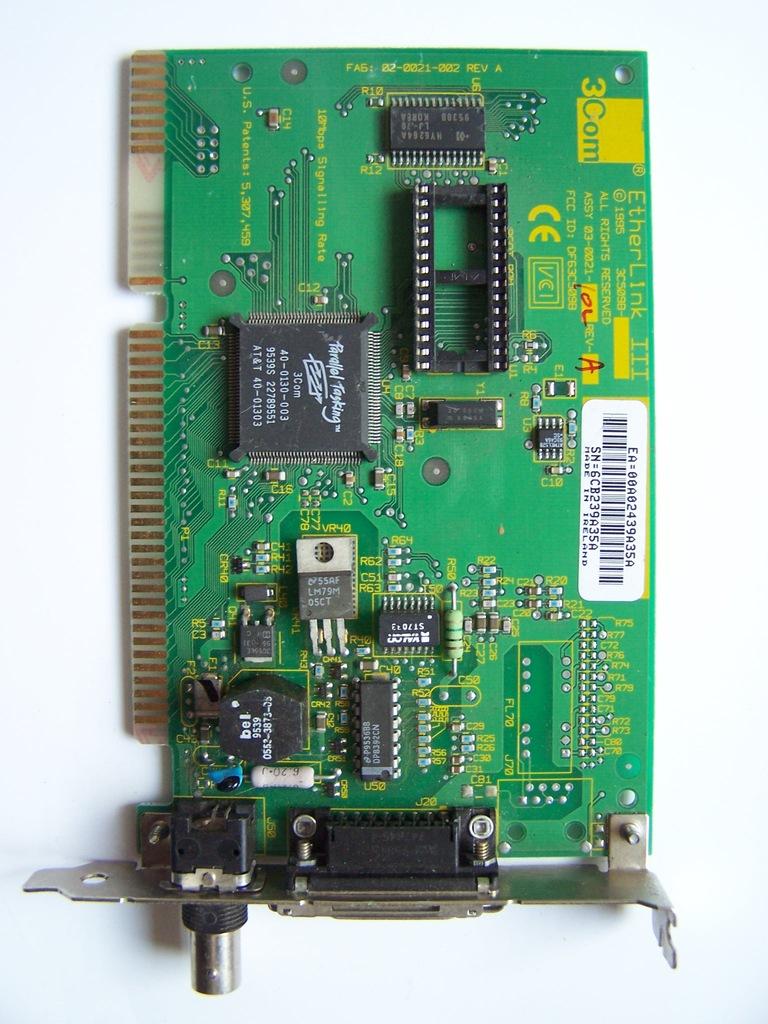 karta sieciowa 3COM ETHERLINK III ISA 3C509B