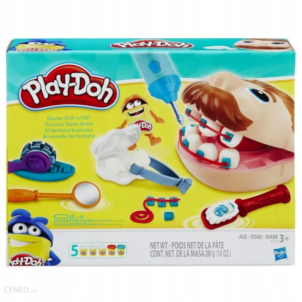 Ciastolina Play-Doh zestaw dentysta B5520