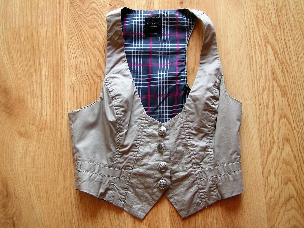 Zara Reserved krata stylowa