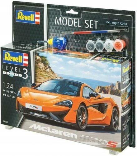 Model Do Sklejania Revell Mclaren 570s Farby 7719947732 Oficjalne Archiwum Allegro