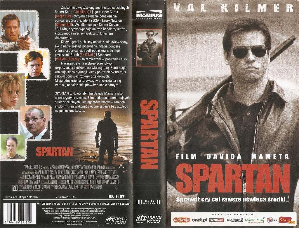 Spartan - VHS