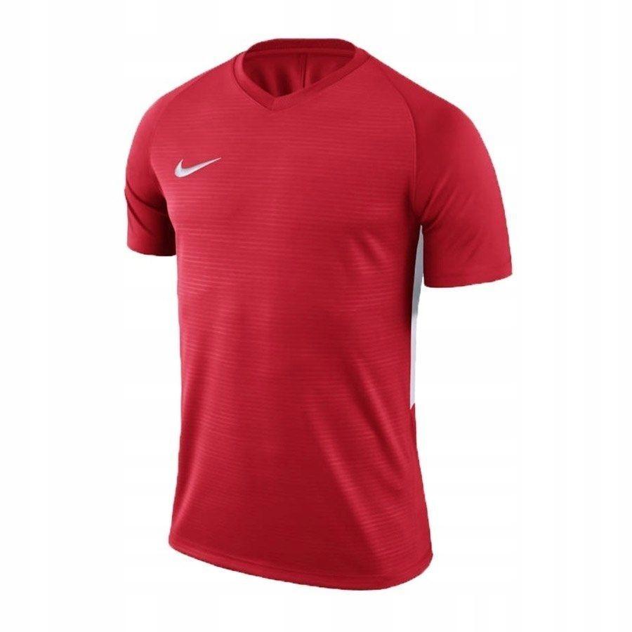 Koszulka Męska Nike Dry Tiempo czerwon M