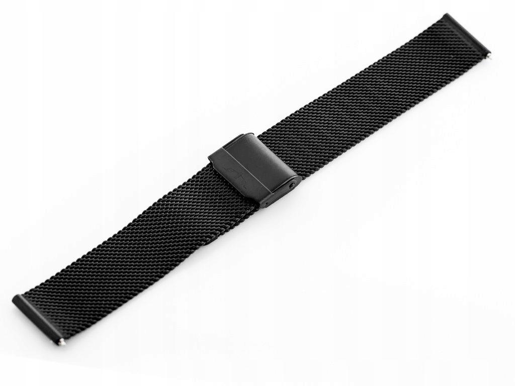 Bransoleta Bisset - czarna 16mm