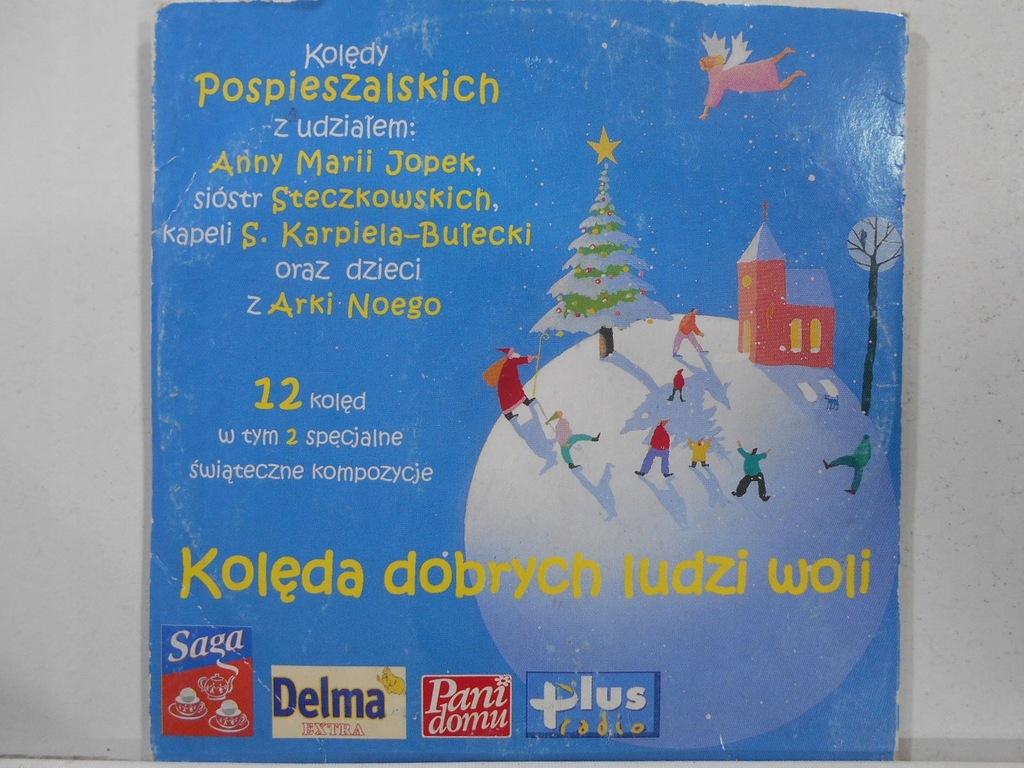 Płyta CD Pospieszalscy - Kolęda dobrych ludzi woli