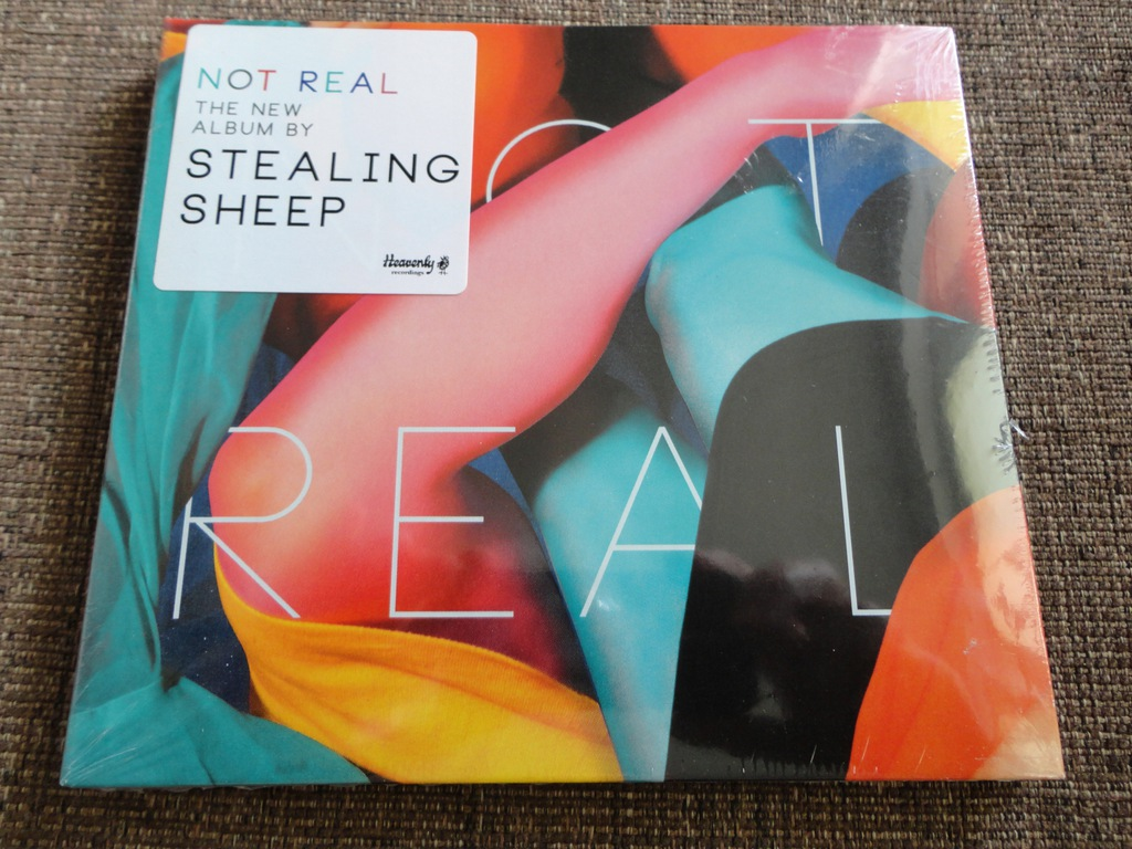 STEALING SHEEP Not Real CD NOWA [FOLIA]