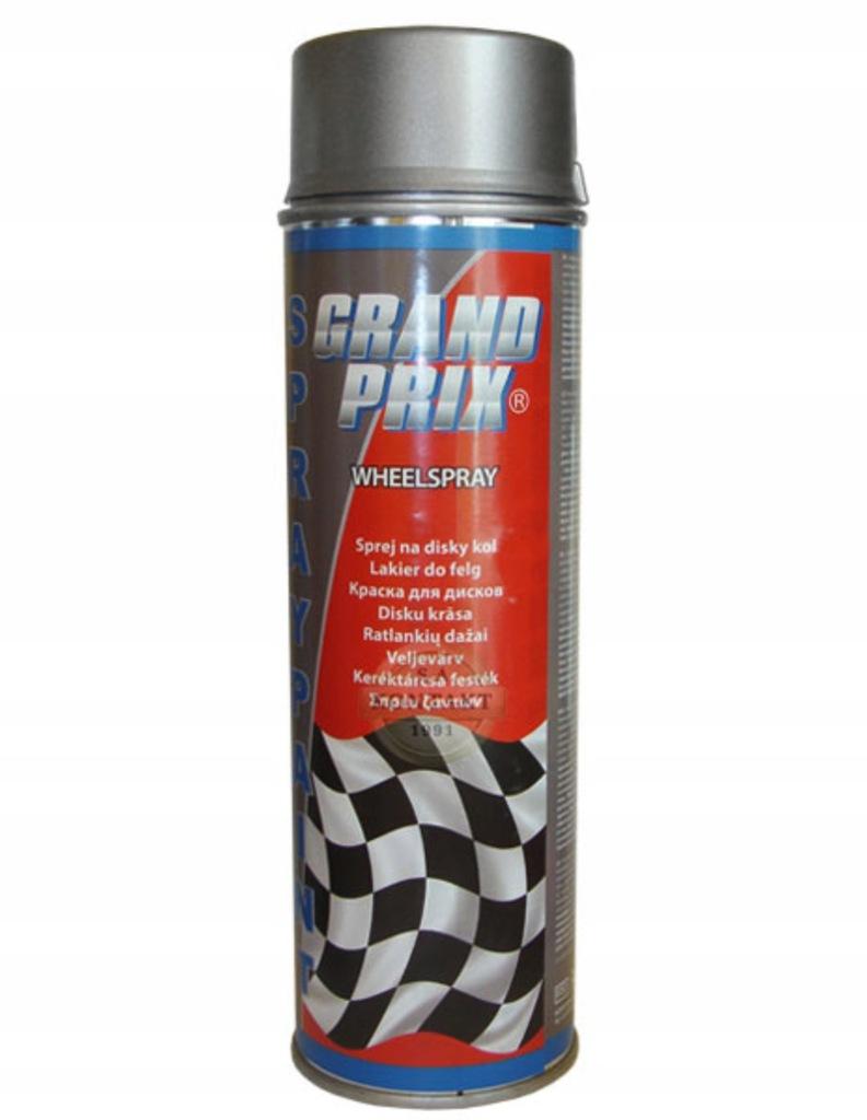 Lakier do felg grafitowy GRAND PRIX 500ml
