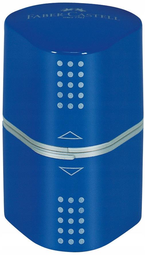 Temperówka potrójna Grip czerwona, Faber-Castell