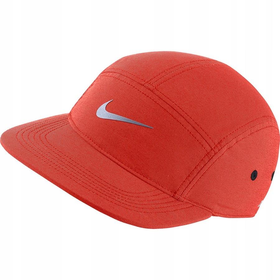 Czapka Nike AW84 Adjustable Running Cap CZERWONY