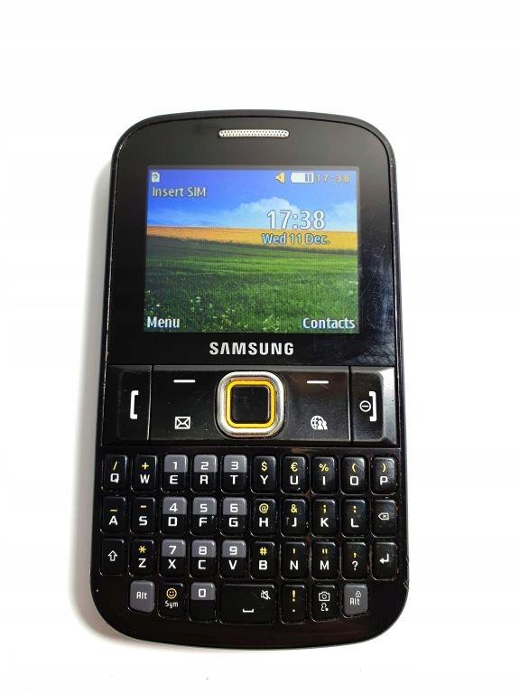 Samsung Chat 8767804197 Oficjalne Archiwum Allegro