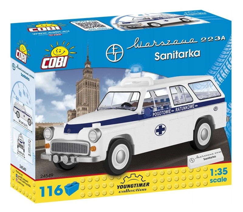 Cobi Klocki Klocki Youngtimer Collection 116