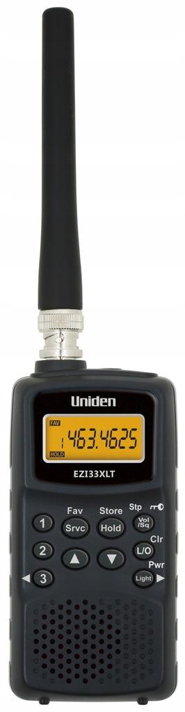 Uniden EZI 33 XLT skaner AIR band/FM/VHF/UHF