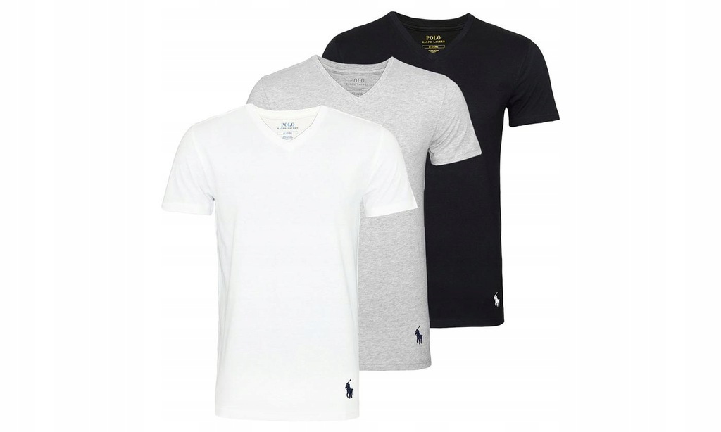3 pak Polo Ralph Lauren T-shirts L/XL