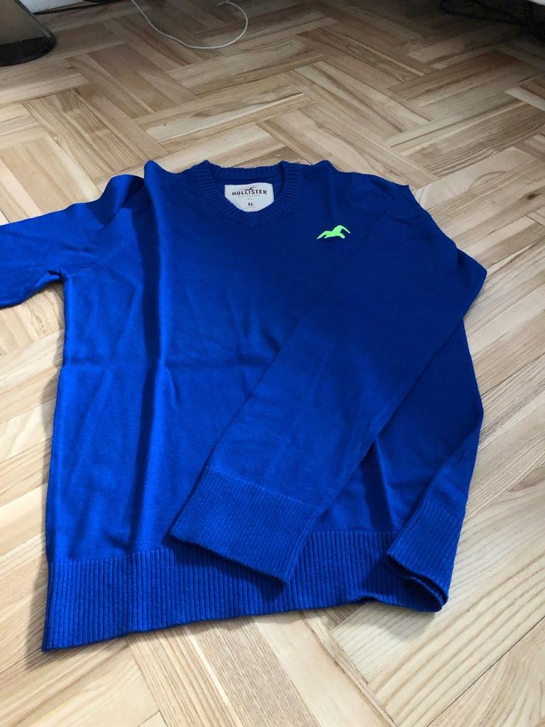 Sweter Hollister XL OKAZJA Jak Nowy