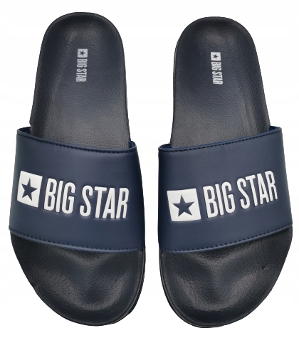 Klapki męskie BIG STAR GG174934 granatowe 45