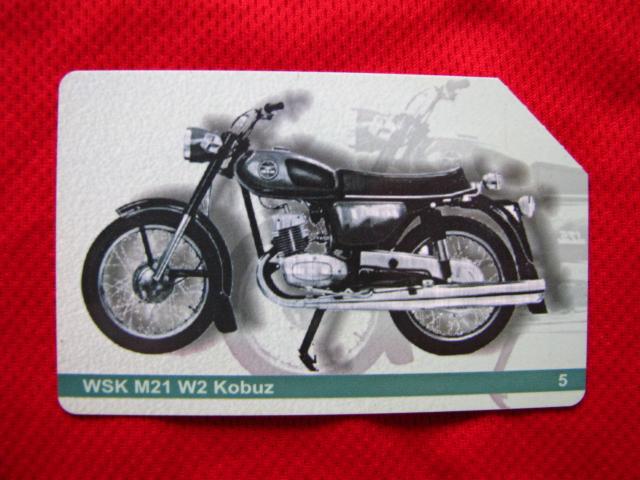 karta motocykle polskie - WSK M 21