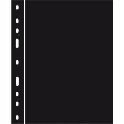 Optima przekładki plastikowe ZWL czarne op.10 szt