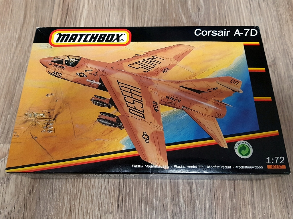 Corsair A-7D - Matchbox - 1:72 - VINTAGE