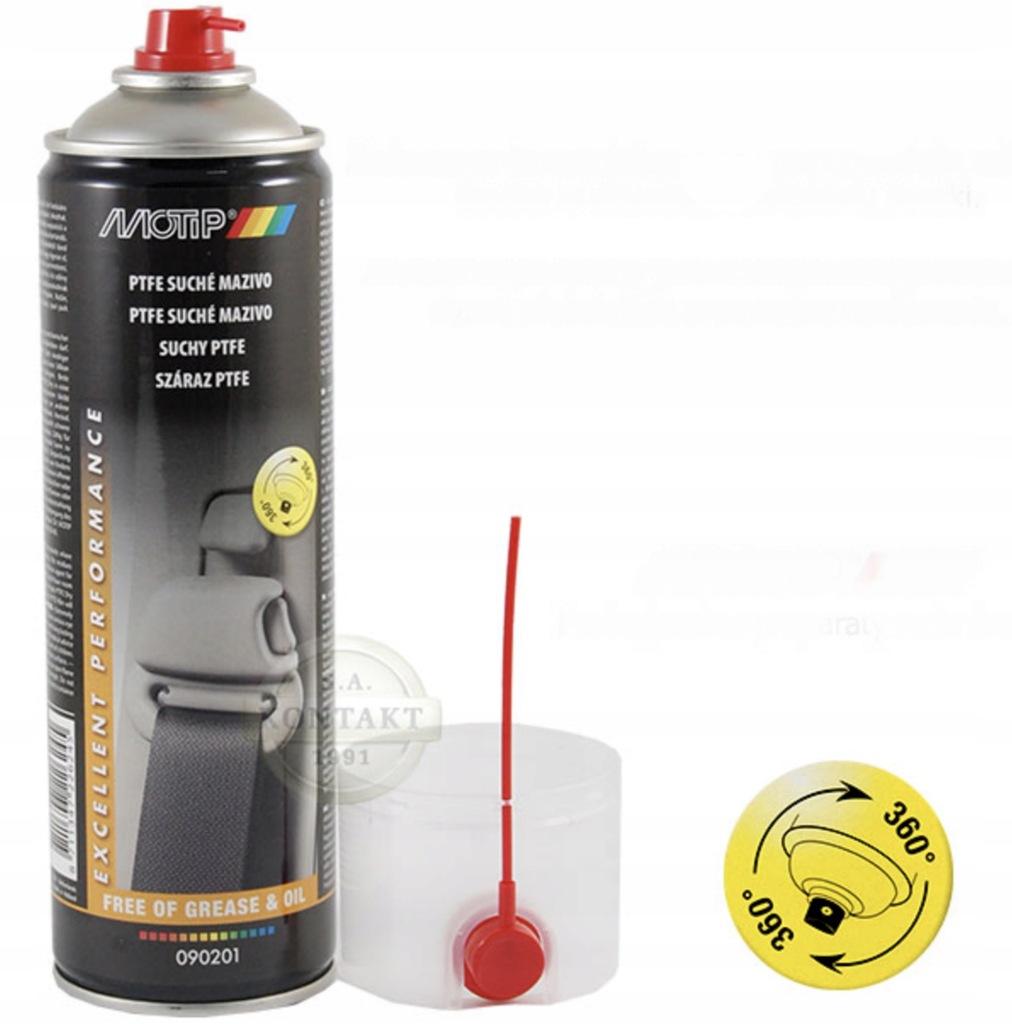 PTFE suche w sprayu spray 500ml MOTIP 090201