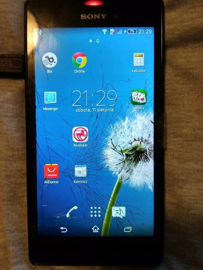 Sony Xperia T3 Rozbity Wyswietlacz 7505624188 Oficjalne Archiwum Allegro