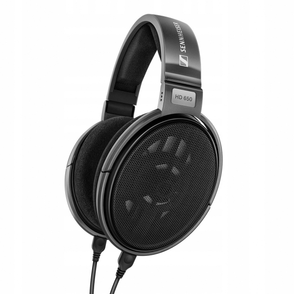 SENNHEISER HD 650 otwarte hi-end audiofilskie