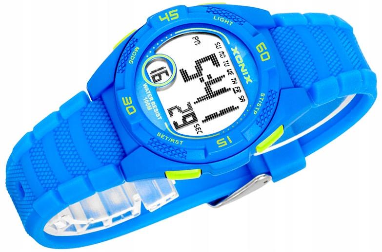Dziecięcy Sportowy Zegarek Cyfrowy XONIX WR100m
