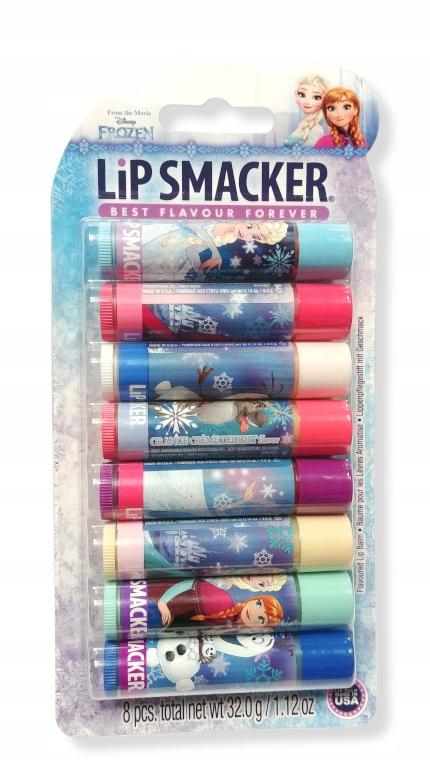 Lip Smacker Zestaw Balsam Do Ust Frozen 8 Smakow 8466476379 Oficjalne Archiwum Allegro