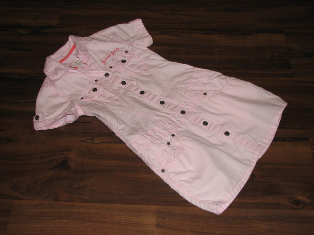 H&M boska sukienka szmijzerka PEREŁKA 116