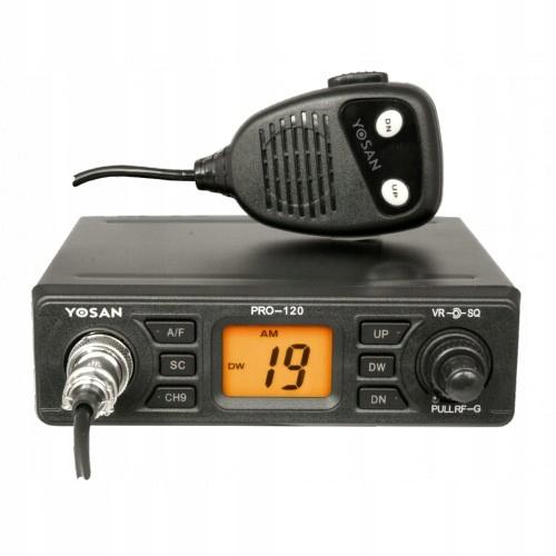 CB Radio PRO-120 Yosan - poprawiony BCM