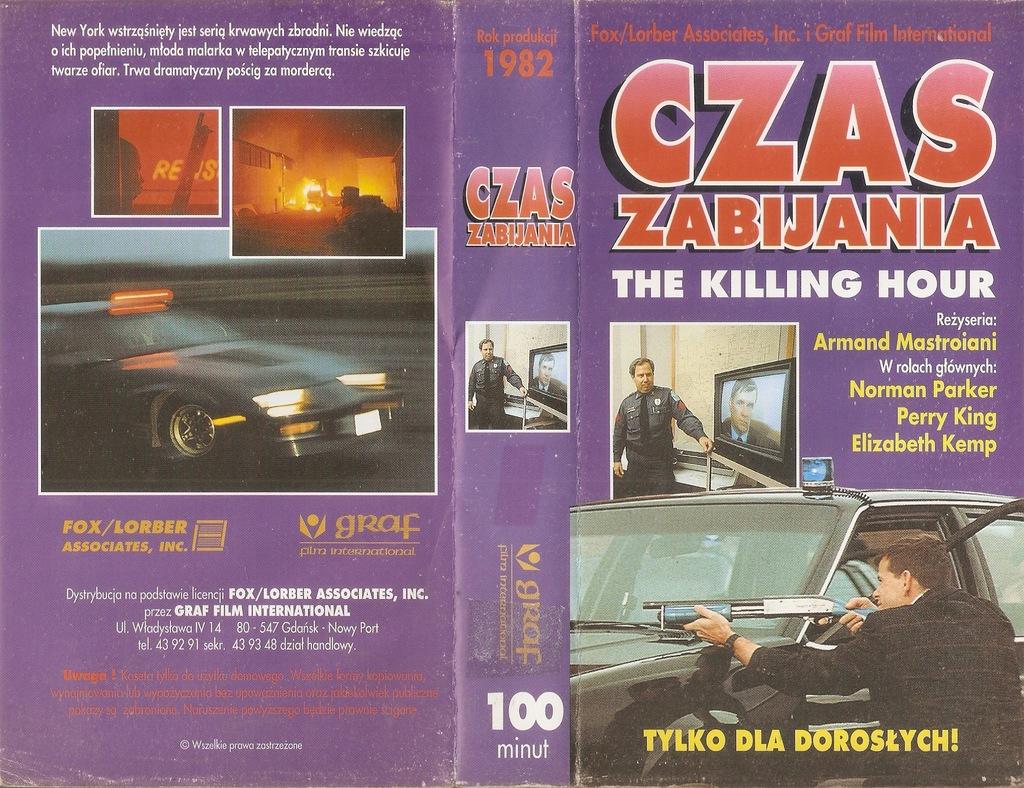 Czas zabijania - VHS