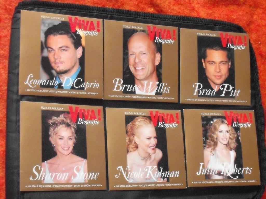 Wielka Kolekcja-Biografie 6VCD